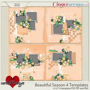 Beautiful Season 4 Templates by CarolW Designs