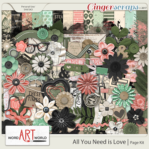 All You Need is Love Page Kit