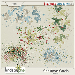 Christmas Carols Scatterz by Lindsay Jane