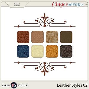 Leather Styles 02 by Karen Schulz
