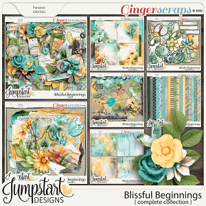 Blissful Beginnings {Complete Collection} Jumpstart Designs