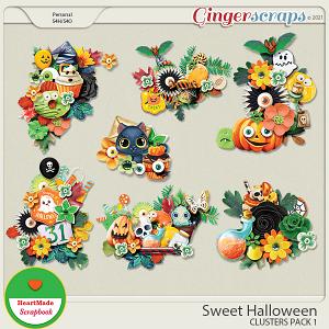 Sweet Halloween - clusters pack 1