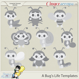 Doodles By Americo: A Bug's Life Templates