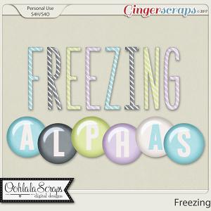Freezing Alphabets