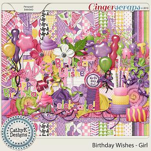 Birthday Wishes - Girl Kit
