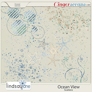 Ocean View Scatterz by Lindsay Jane