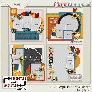 2021 September: Wisdom Templates by North Meets South Studios