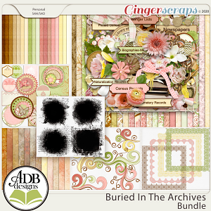 Buried in the Archives Bundle by ADB Designs