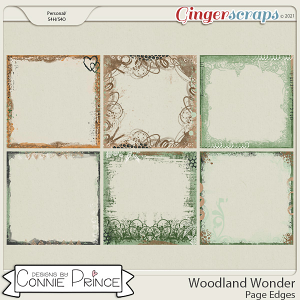 Woodland Wonder - Page Edges by Connie Prince