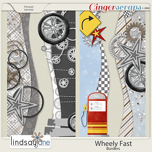 Wheely Fast Borders by Lindsay Jane