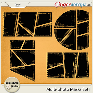 Multi-photo Masks Set1