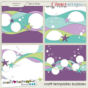 Craft-Templates Bubbles