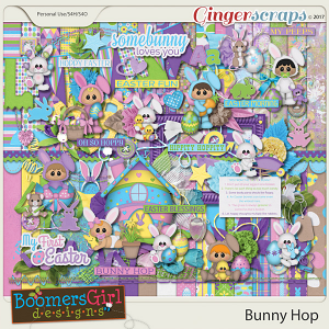Bunny Hop by BoomersGirl Designs