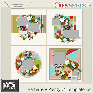 Patterns A Plenty #4 Templates by Aimee Harrison