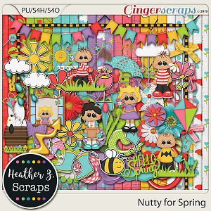 Nutty for Spring KIT by Heather Z Scraps