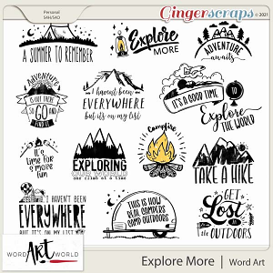 Explore More Word Art