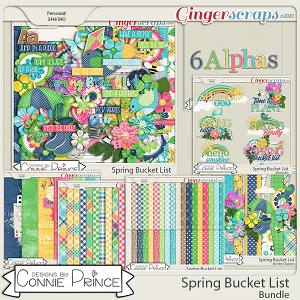 Spring Bucket List - Bundle by Connie Prince