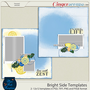 Bright Side 1 Templates by Miss Fish