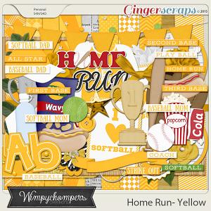 Home- Run- yellow