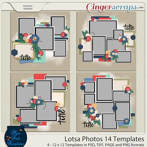 Lotsa Photos 14 Templates by Miss Fish