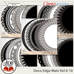 Deco Mats Bundle 02 - Vol 6-10 by ADB Designs