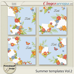 Summer Templates Vol.2