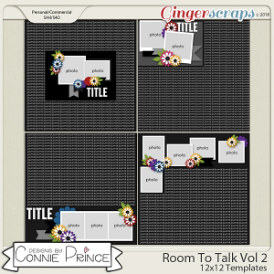 Room To Talk Volume 2 - 12x12 Temps (CU Ok) by Connie Prince