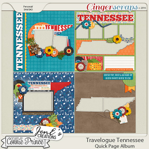 Travelogue Tennessee - QuickPage Album