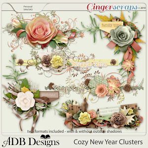 Cozy New Year Clusters by ADB Designs