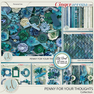 Penny For Your Thoughts Collection by Ilonka's Designs