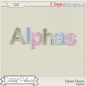 Open Doors - Alpha Pack AddOn by Connie Prince