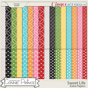 Sweet Life - Extra Papers by Connie Prince