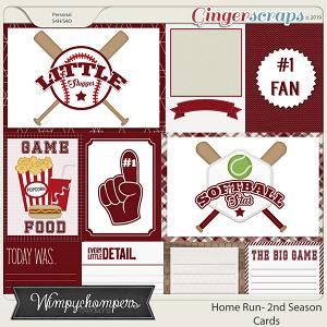 Home Run- Second Season Burgundy Cards