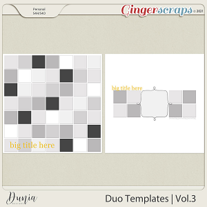 Duo Templates   Vol.3 by Dunia Designs