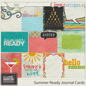 Summer Ready Journal Cards by Aimee Harrison