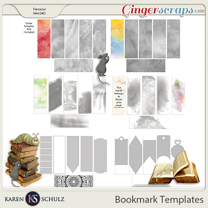Bookmark Templates by Karen Schulz