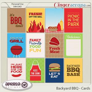 Backyard BBQ - Cards by Aprilisa Designs