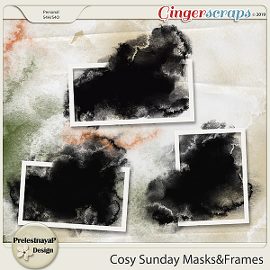 Cosy Sunday Masks&Frames