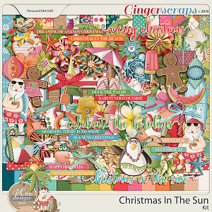 Christmas in the Sun Kit by JoCee Designs