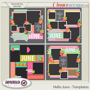 Hello June - TemplatePack