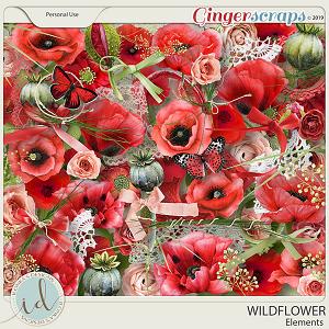 Wildflower Elements by Ilonka's Designs