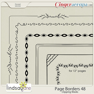 Page Borders 48 by Lindsay Jane