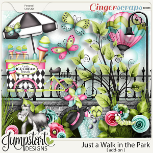 Just a Walk in the Park {Add-On} Jumpstart Designs