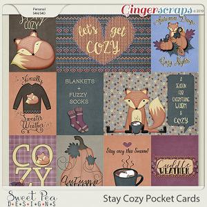 Stay Cozy Pocket Cards
