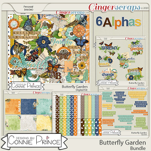 Butterfly Garden - Bundle by Connie Prince