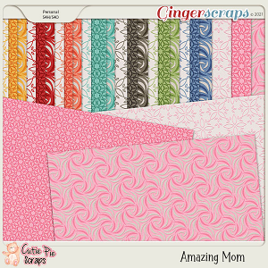 Amazing Mom Pattern Papers