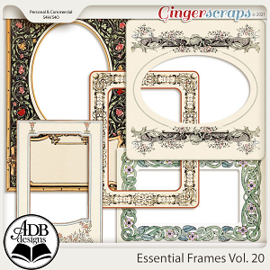 Essential Frames Vol 20 by ADB Designs