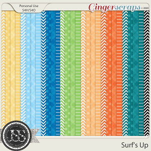 Surf's Up Pattern Papers