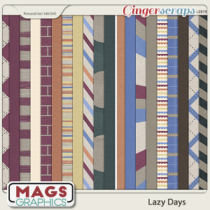 Lazy Days PAPERS by MagsGraphics