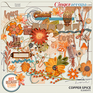 Copper Spice Elements by JB Studio